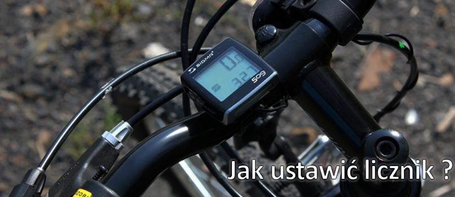 Jak ustawić licznik rowerowy?