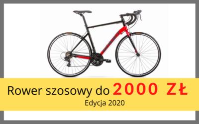 Rower szosowy do 2000 zł – 2020.
